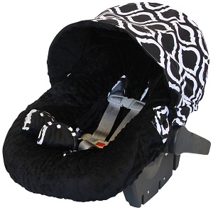Itzy Ritzy Baby Ritzy Rider Infant Car Seat Cover